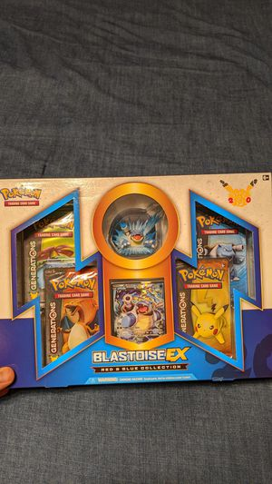 Pokemon Red and Blue Collections: Blastoise for Sale in Denton, TX