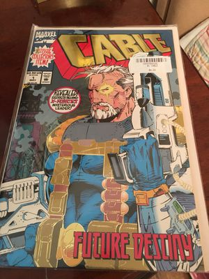 Cable Future Destiny Comic- Fantastic condition! for Sale in Atlanta, GA