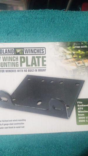Winch plate for Sale in Houston, TX