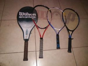 3 tennis rackets in good shape. strings in great condition for Sale in Orlando, FL