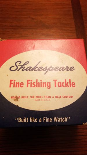 Vintage Shakespeare Spin Wonder 2065NL Spinning fishing reel for Sale in Fowler, CA