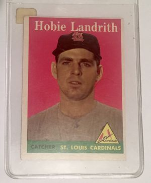 1958 Topps 24 Hobie Landrith for Sale in Laurel, MD