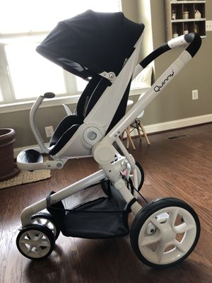 Quinny Moodd Stroller Black Irony for Sale in Clarksburg, MD