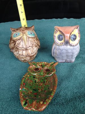 Three owls for Sale in Claremont, CA