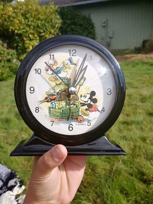 Retro Disney Clock for Sale in Moreno Valley, CA