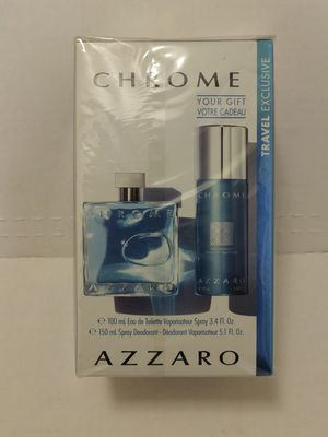 "FIRM $40.00 ""CHROME"", by AZZARO FOR MEN for Sale in Manor, TX"