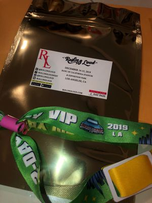 2 Day VIP Pass to Rolling Loud Dec 14-15th for sale! for Sale in Pasadena, CA