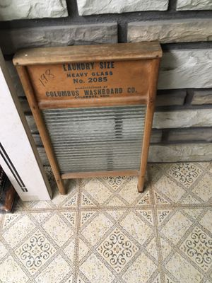 Columbus Washboard for Sale in Secaucus, NJ