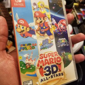 SUPER MARIO 3D ALL STARS NINTENDO SWITCH for Sale in Miami, FL