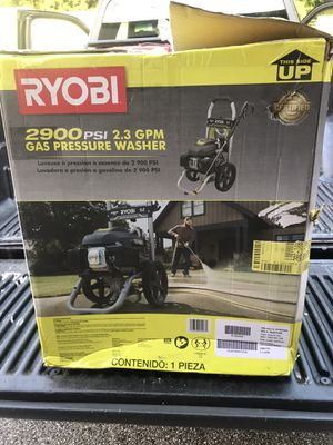 Ryobi 2900 Pressure Washer for Sale in Baltimore, MD