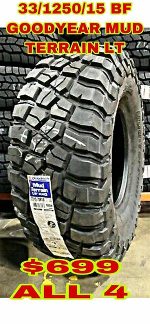 BRAND NEW SET OF TIRES 33 1250 15 for Sale in Phoenix, AZ