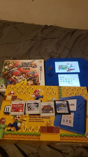 Nintendo 2ds with 20 games, charger, and box for Sale in Rock, WV