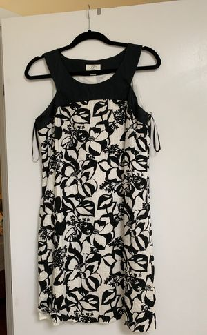 Loft size 10P black/white dress for Sale in Annandale, VA