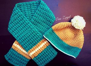 crochet Hat& scarf set for Sale in Columbia, MO