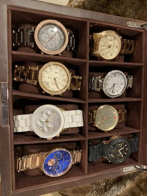 Sets of 8 women's watch Michael kors/Kate spade for Sale in San Diego, CA
