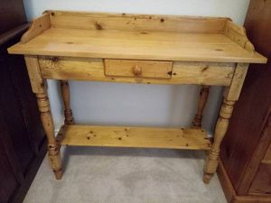 Pine Side Table for Sale in Manor, TX