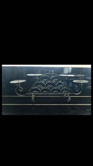 Rod iron candle holder for Sale in San Antonio, TX