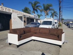 NEW 7X9FT CHARCOAL MICROFIBER COMBO SECTIONAL COUCHES for Sale in Selma, CA