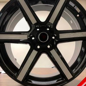"Brand New 24"" LA20 6x135 Black Milled Wheels for Sale in Miami, FL"
