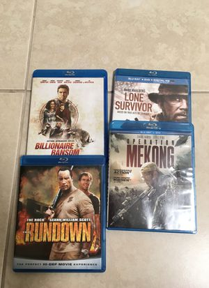 4 Blu-Ray DVD's for Sale in Fort Pierce, FL
