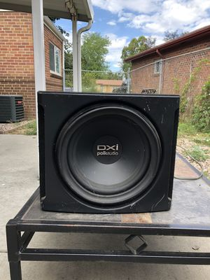 "Polk Audio dxi 12"" Subwoofer w/ Pyle PLA-2200 amp for Sale in Denver, CO"