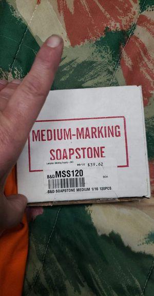 B&D Soapstone medium marking for Sale in Lawton, OK