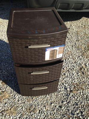 Sterilite 3 drawer container for Sale in Tulsa, OK