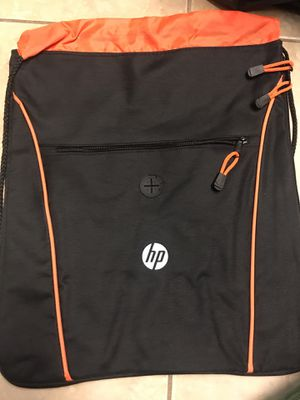 Brand New HP Hewlett-Packers Company Exclusive Drawstring Bag Backpack Laptop Tablet Holder for Sale in Plainfield, IL