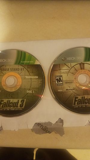 Fallout 3 Game of the year edition Xbox 360 for Sale in Baltimore, MD