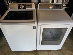 Set washer and dryer samsung for Sale in Charlotte, NC