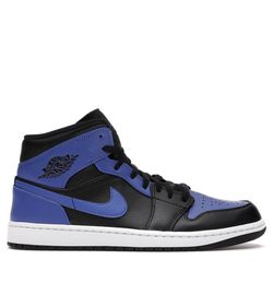 Jordan 1 Mid Hyper Royal Tumbled Leather 10.5 for Sale in Portland,  OR