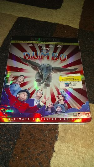 DUMBO 4K BRAND NEW SEALED NEVER OPENED ASKING ONLY FOR $14.00 for Sale in Phoenix, AZ