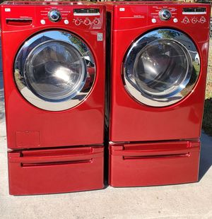 🛑Like NEW🛑 LG Stackable 👉Huge Capacity💧Washer ♨️Dryer Laundry Set for Sale in Chesapeake, VA