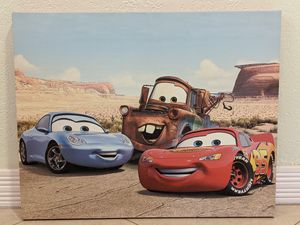 Authentic Disney Cars canvas wall art for Sale in Westminster, CA