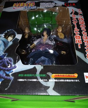 Naruto G.E.M. series Sasuke Action Figure for Sale in Baldwin Park, CA