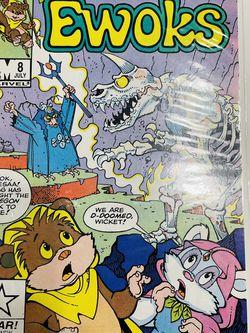 Star Comics Marvel EWOKS #8 Comic Book The Kreegon Beast Rises Again 1985 for Sale in Waco,  TX