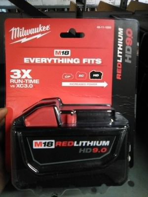 M18 HD 9.0 Red lithium ion Battery for Sale in Anaheim, CA
