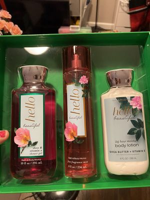 Bath and body works set for Sale in Grand Prairie, TX