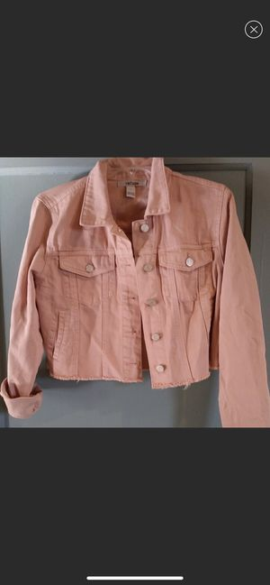 Pink denim jacket for Sale in Fort Washington, MD