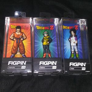 Lot of 3 Dragonball Z FiGPiNs- Brand New for Sale in Houston, TX