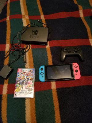 Nintendo Switch Smash Bros. Bundle for Sale in Hawthorne, CA