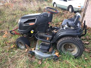 Craftsman riding mower with extra engine for Sale in Graham, WA