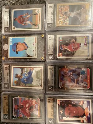 Graded Baseball Cards - All Stars only!!! for Sale in Fairview Park, OH