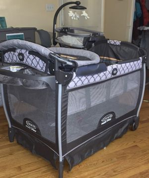 Graco Pack and Play with all infant attachments for Sale in Baltimore, MD