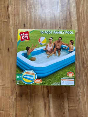 Play Day 10 Foot Family Pool - Brand New for Sale in Mendon, MA