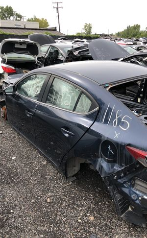 Selling parts for a blue Mazda 3 for Sale in Warren, MI