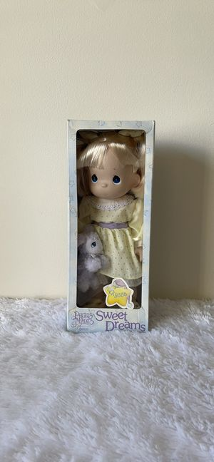 Precious Moments Sweet Dreams Vintage Alyssa Doll for Sale in Plainfield, IL