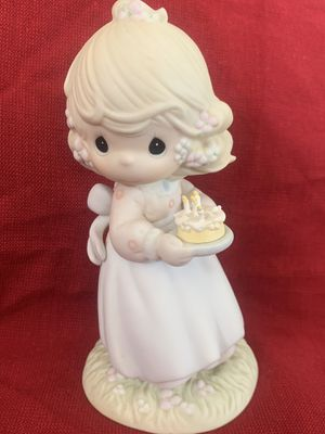 Precious Moments May your birthday be a blessing figurine for Sale in Punta Gorda, FL