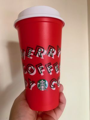 Starbucks reusable holiday coffee cup for Sale in Glendale, CA