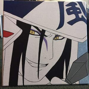 Orochimaru Naruto Canvas Painting for Sale in Hollister, CA